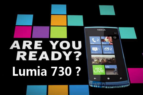 Nokia Lumia 730 dengan Windows Phone
