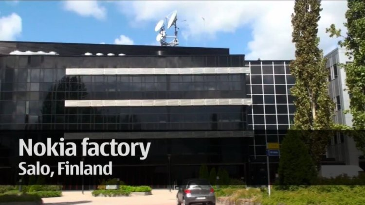 Завод Nokia Salo