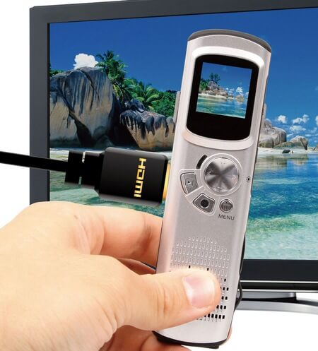 Thanko-HDMDVC74-Pen-type-Full-HD-Camcorder
