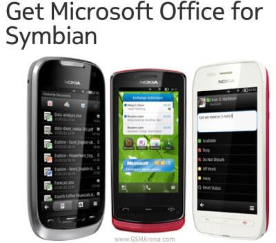 Microsoft Office для Symbian
