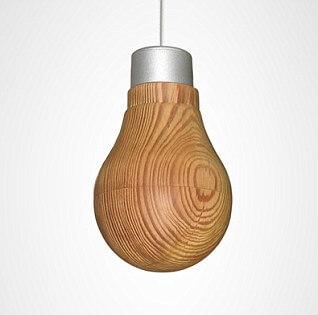 Деревянная лампа - 2