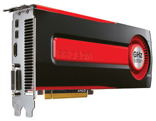 Видеокарта AMD Radeon HD 7970 GHz Edition