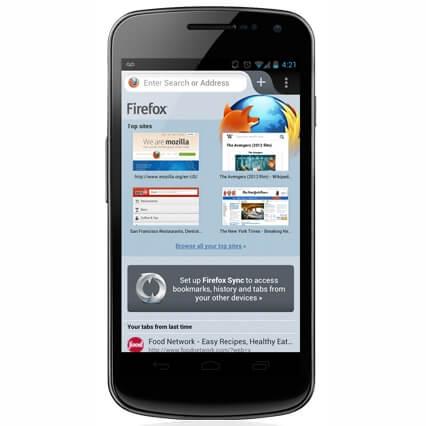 Новый Mozilla Firefox для Android доступен для скачивания