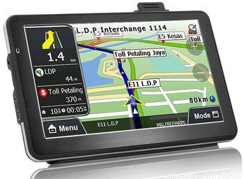 GPS-навигатор CVXC-TR45 с видеорегистратором
