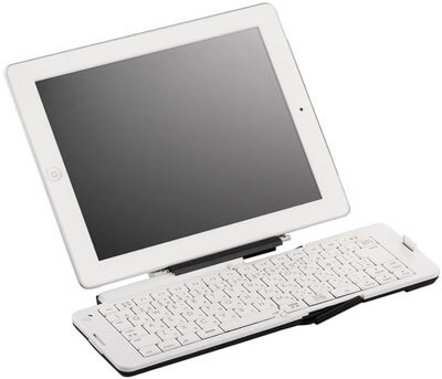 Buffalo-BSKBB03WH-Folding-Bluetooth-3.0-Keyboard