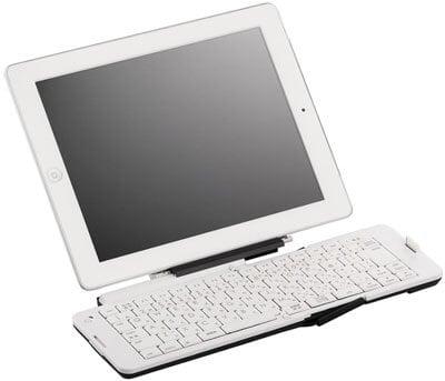 Buffalo-BSKBB03WH-Folding-Bluetooth-3.0-Keyboard