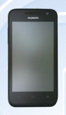 Huawei Ascend G330 - вид спереди