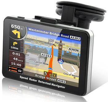 GPS-навигатор RadarBot