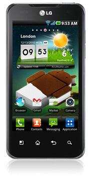 Обновление ICS для смартфонов LG