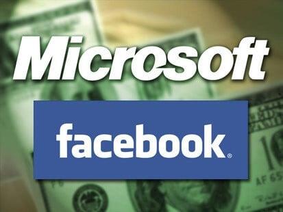 Facebook и Microsoft