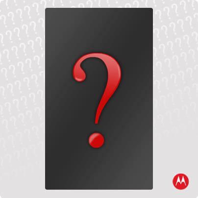 Тизер нового смартфона марки Motorola