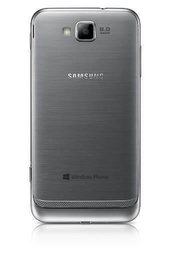 Samsung ATIV S - вид сзади