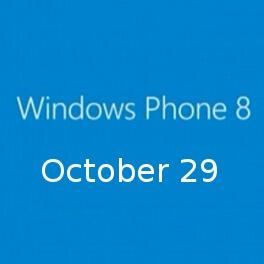 ОС Windows Phone 8 выйдет 29 октября