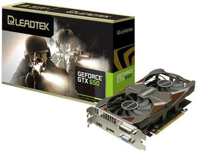 Leadtek-GTX650-2G-HURRICANE-II-SE-Graphics-Card