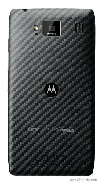 Motorola Droid RAZR HD - вид сзади