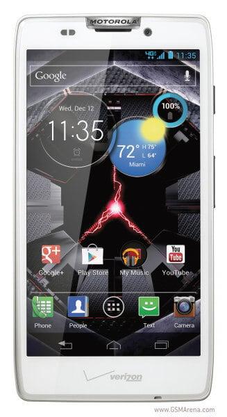 Motorola Droid RAZR HD - вид спереди