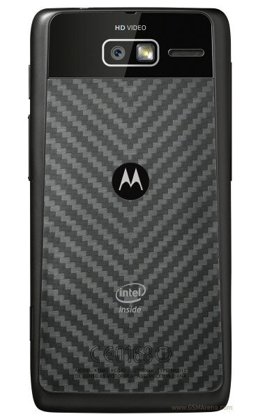 Motorola Razr i - вид сзади