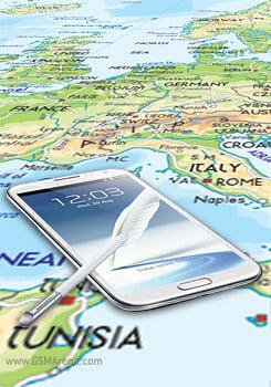 Samsung Galaxy Note II прибывает в Европу