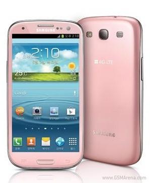 Samsung Galaxy S III Pink