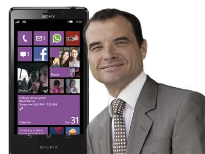 Sony Mobile засматривается на Windows Phone 8