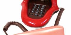 Телефон в виде рта