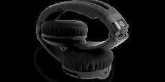 SteelSeries Flux Headset-Black_folded
