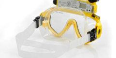 Подводная маска с камерой