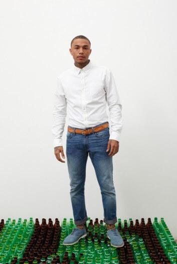 Пластиковые джинсы Levi's