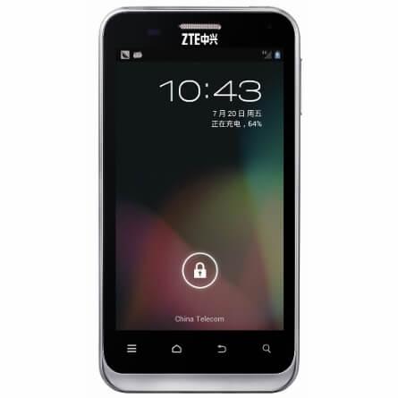 ZTE N880E получил обновление Android 4-2 JellyBean