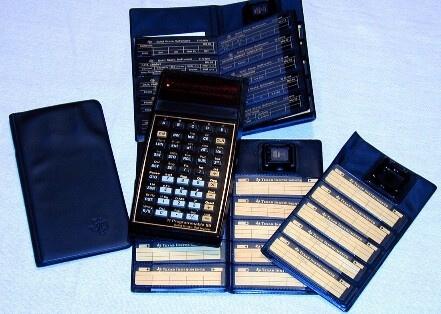 Аксессуары и магнитные карты для TI-59