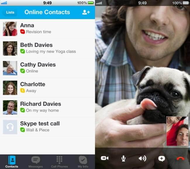 Skype Для Iphone 5 - фото 2