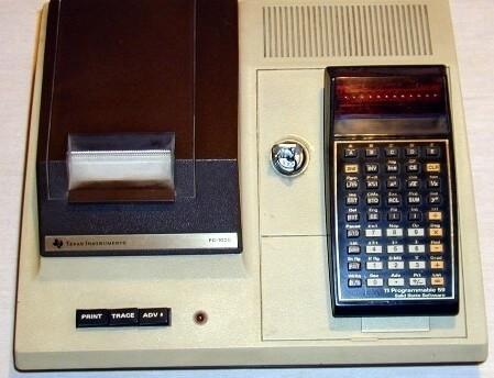 TI-59 в принтере