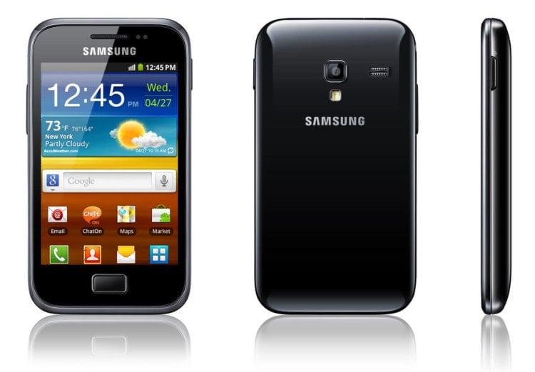 Модель Galaxy Ace Plus