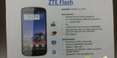 Смартфон ZTE Flash