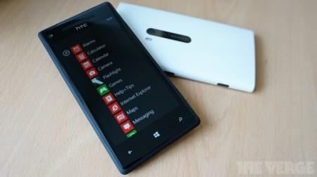 Lumia 920 и HTC 8X