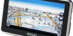 Два GPS-навигатора Lexand