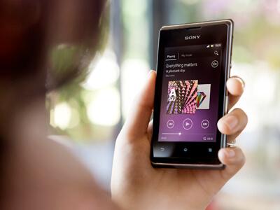 Sony Xperia E - 1