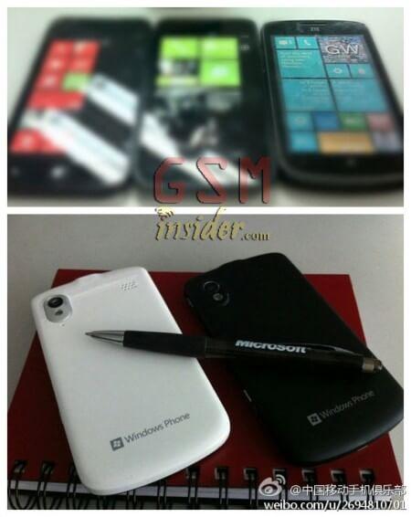 WP-смартфоны ZTE