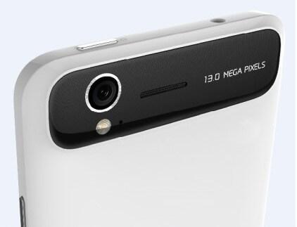 ZTE Grand S - камера