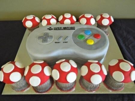 Торт SNES