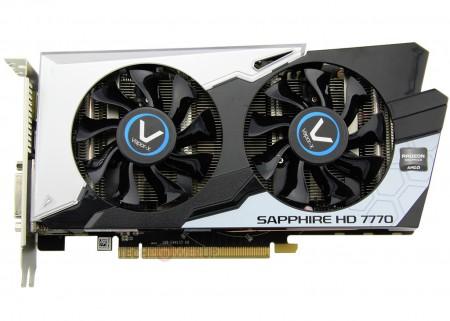 Видеокарта Radeon HD 7770 Vapor-X Black Diamond