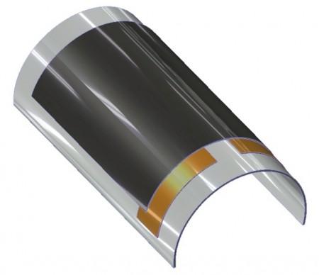 Гибкая литий-ионная батарея
