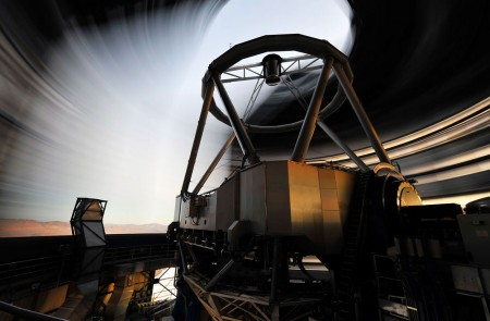 Движение купола телескопа Unit 1