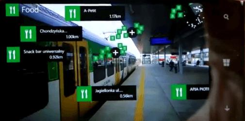 Дополненная реальность Nokia