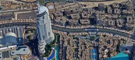 Панорама Дубаи