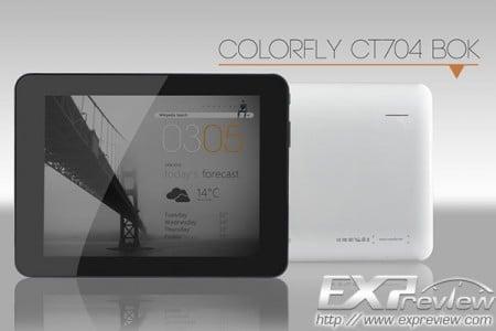 Планшет colorfly ct704