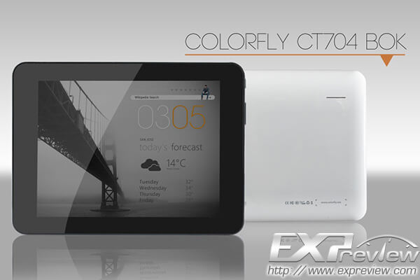 Планшет colorfly ct704