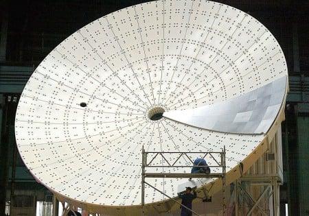 Радиотелескопы ESO