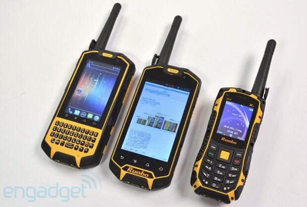 Смартфоны Runbo X5, X3 и X1