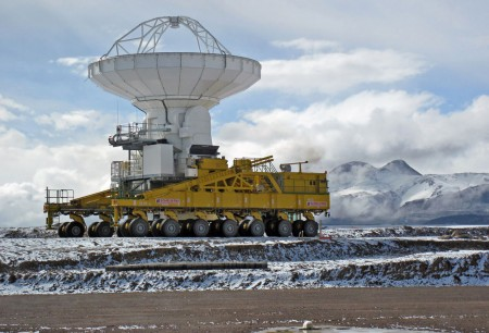 Снег в пустыне Атакама